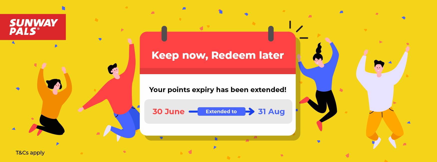 Points Expiry Extension