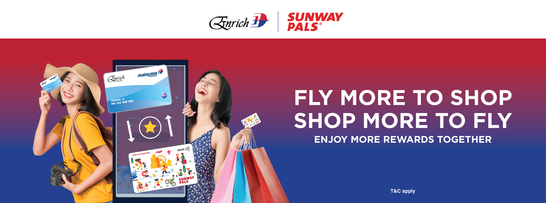 Enrich Miles and Sunway Pals Points Exchange