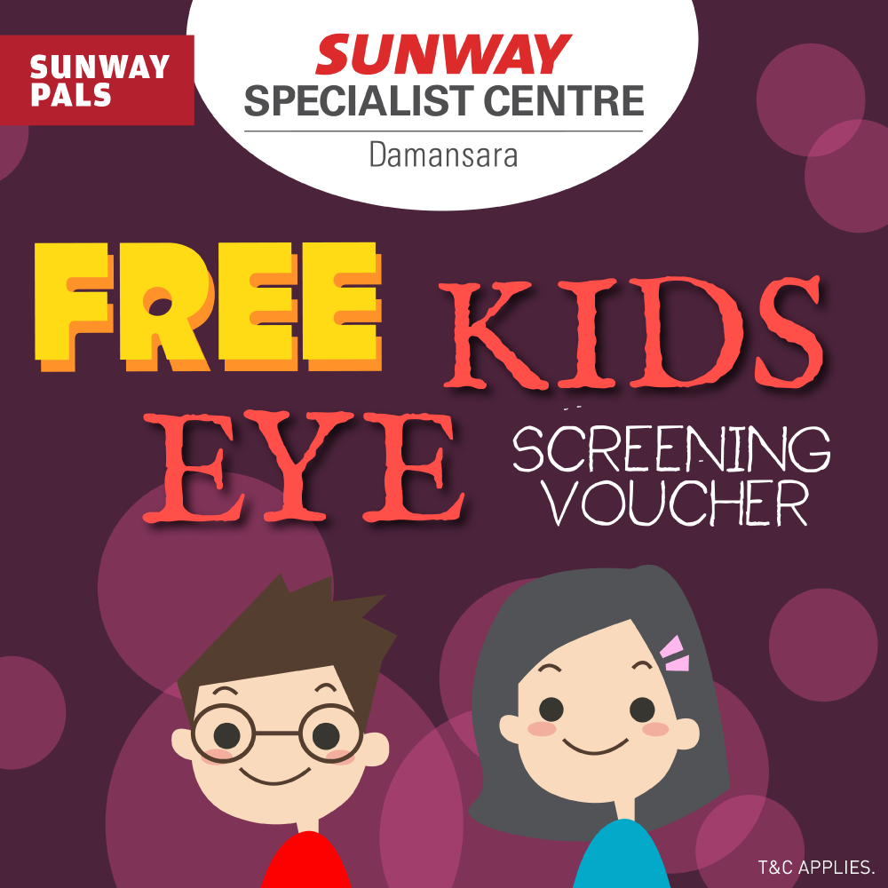 Free Kids Eye Screening Voucher