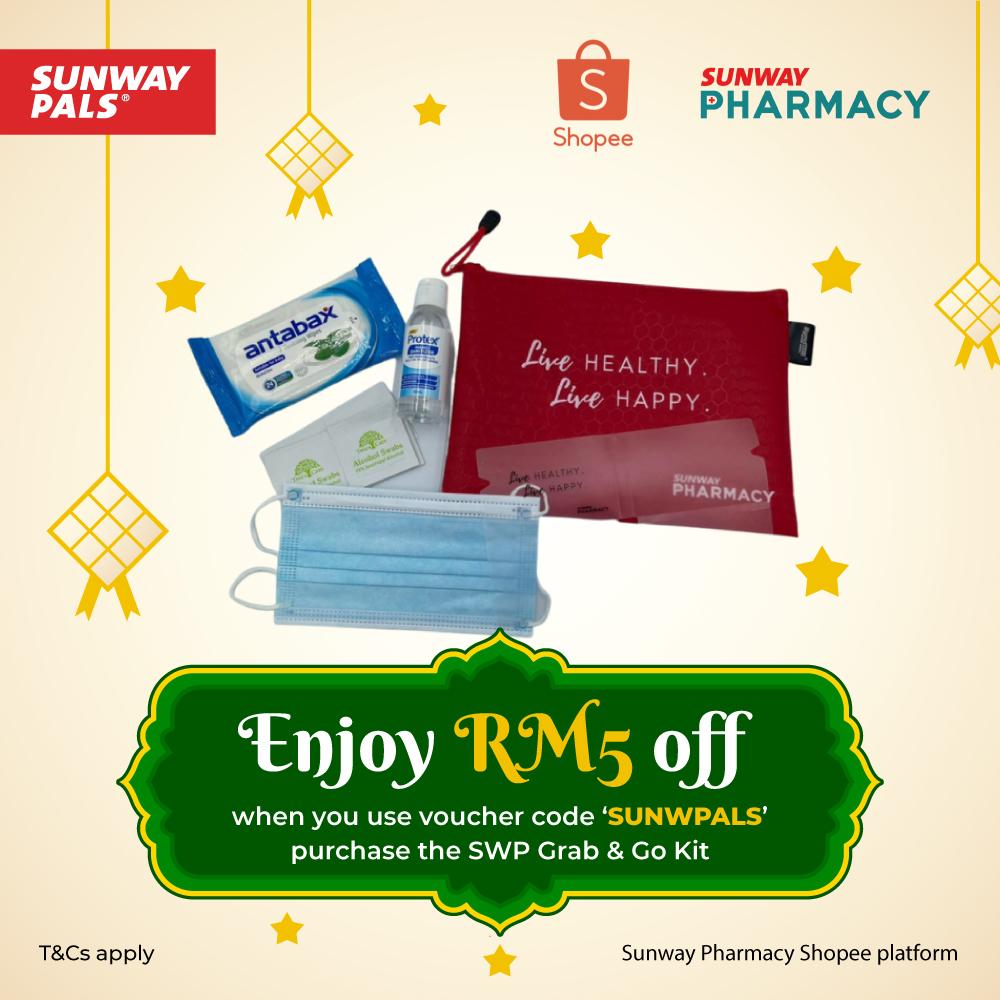 RM5 OFF on Grab & Go Kit
