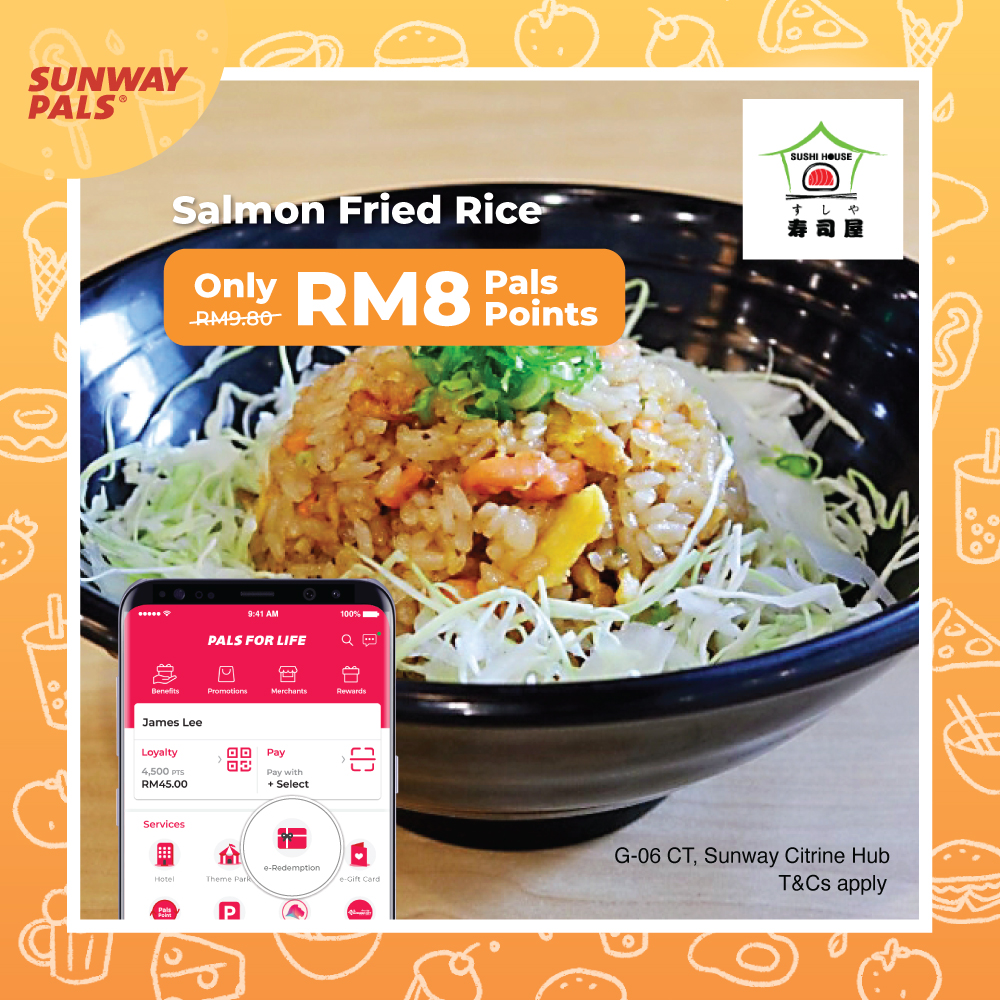 Salmon Fried Rice for RM8