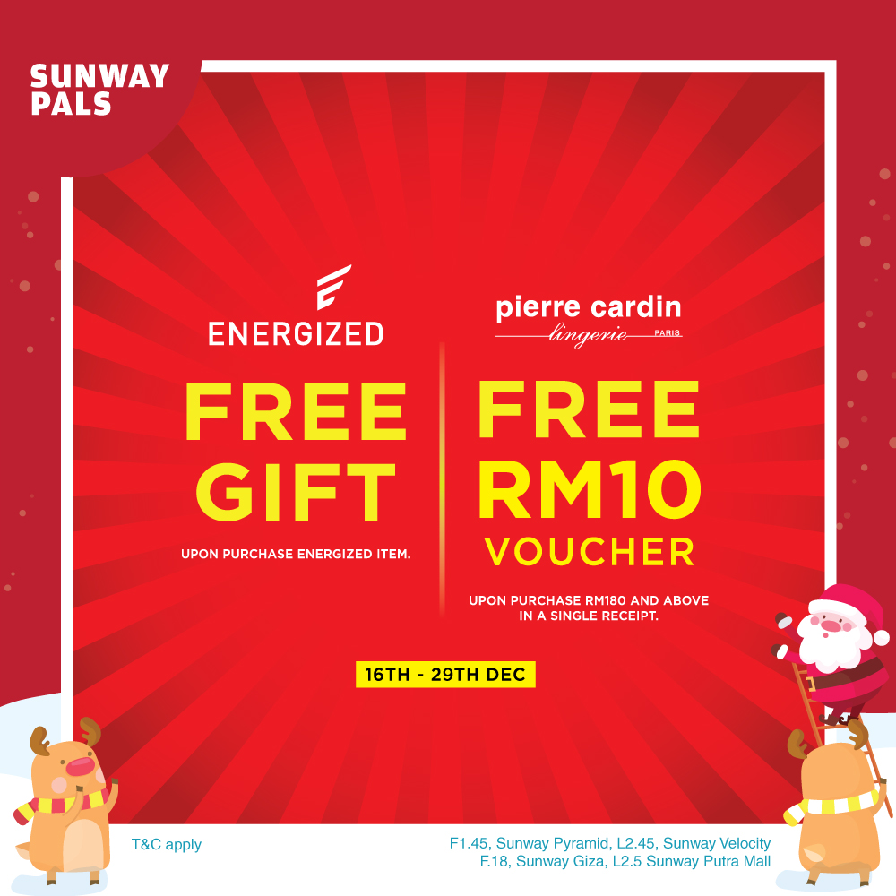 FREE RM10 Cash Voucher & Gift with Purchase