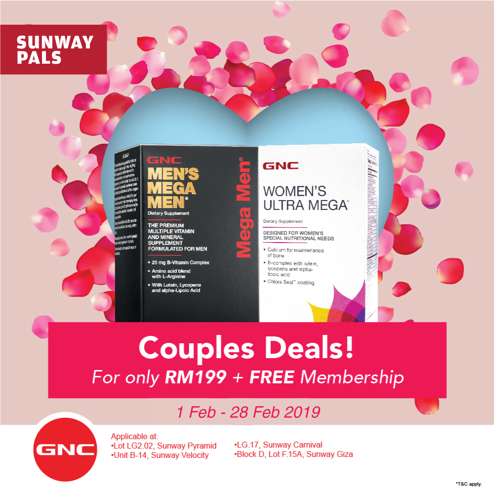 Couple Deals @ RM199 + Free Membership