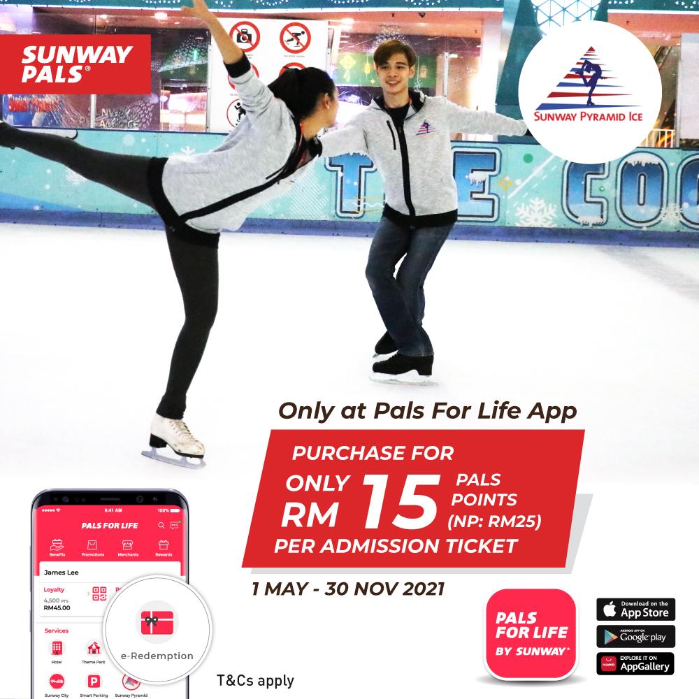 Sunway Pyramid Ice Ticket e-Deal