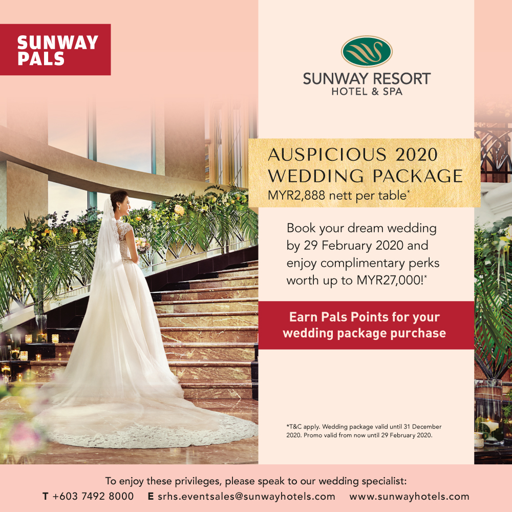 Auspicious 2020 Wedding Package