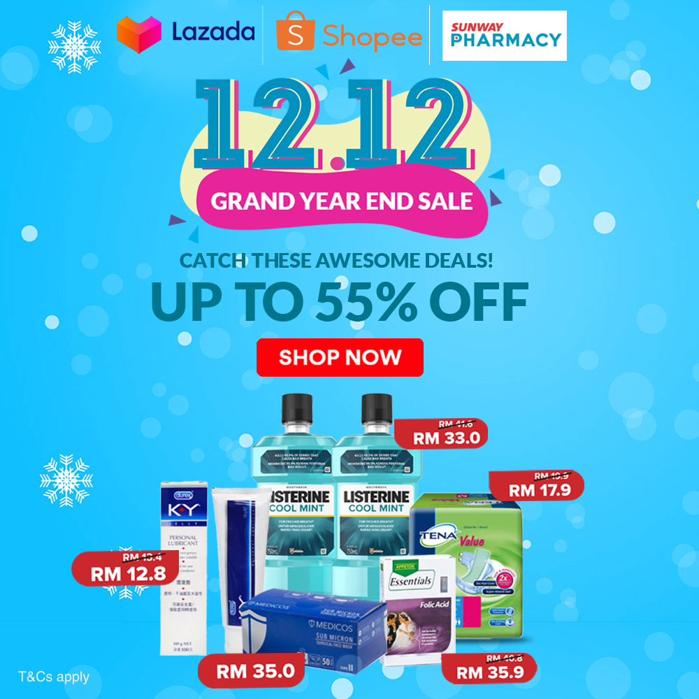 12.12 Grand Year End Sale