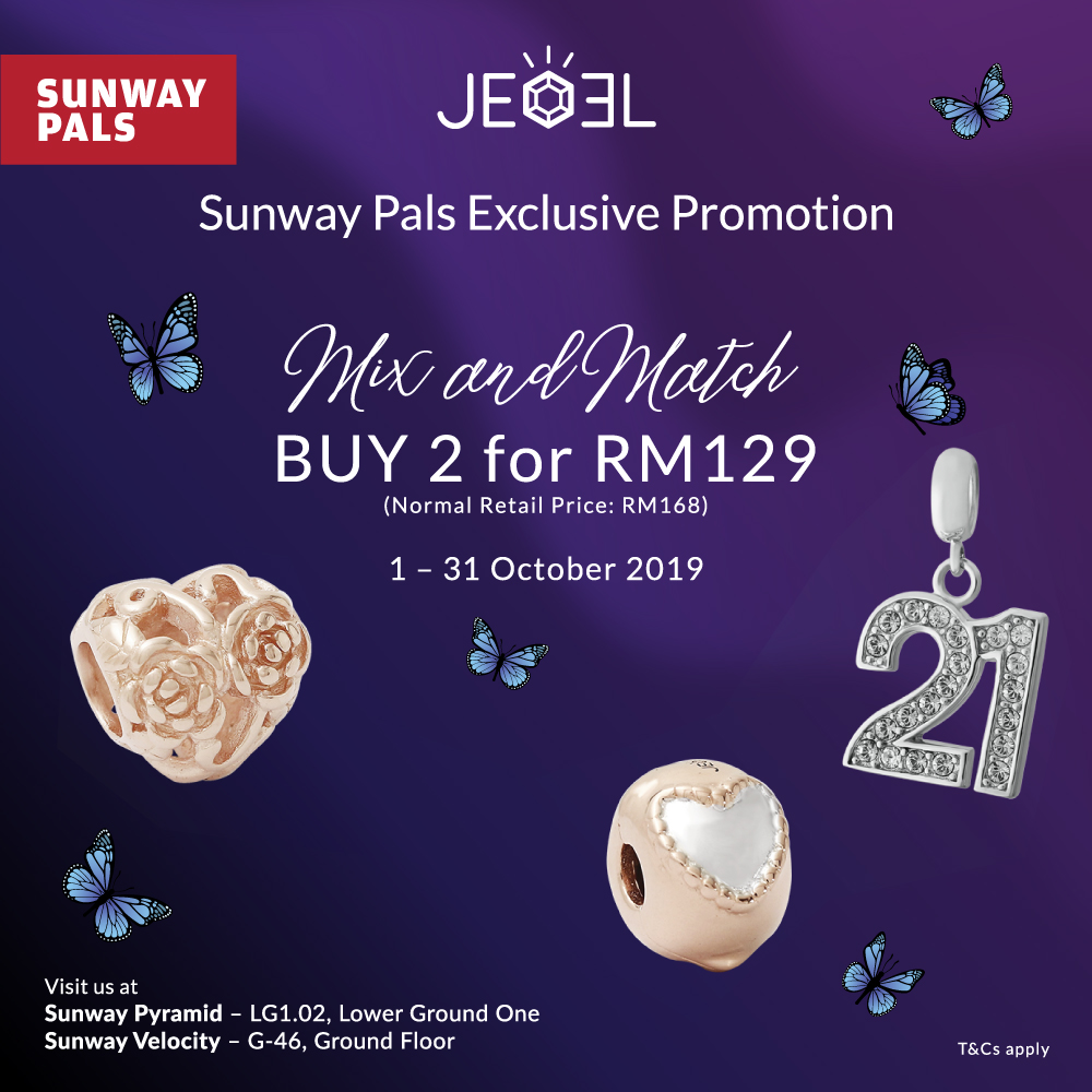 Mix & Match: Any 2 for RM129