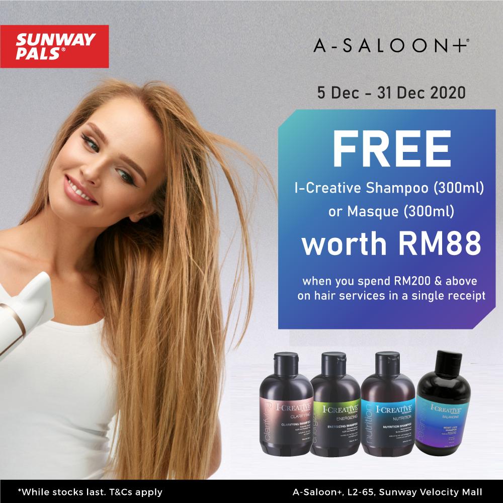 FREE Gift worth RM88!