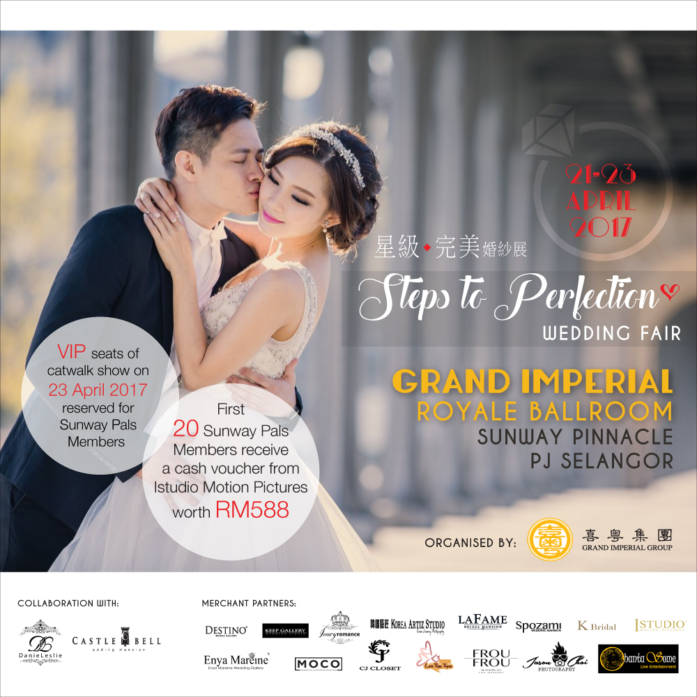 Steps to Perfection – Wedding Fair