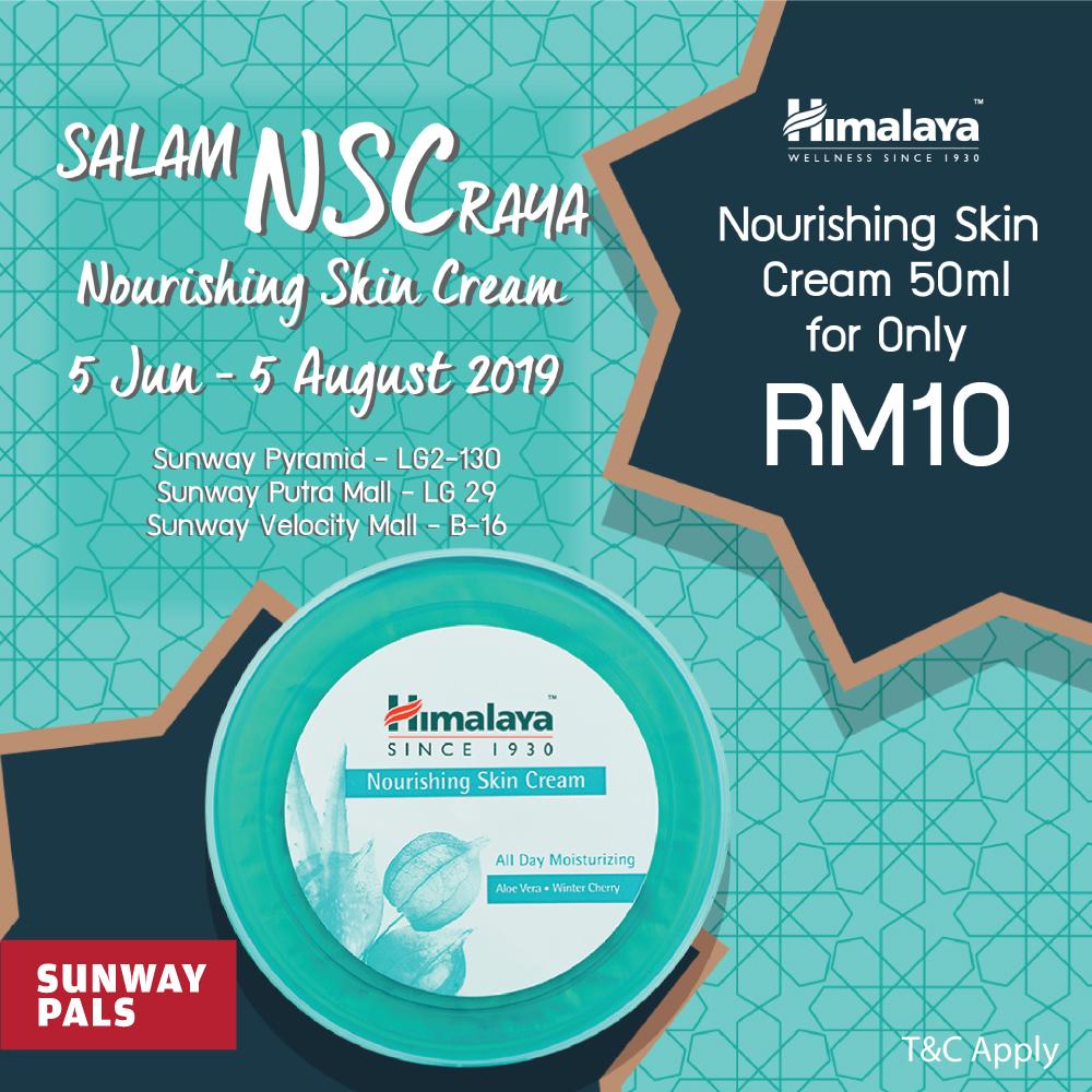 Nourishing Skin Cream (50ml) @ RM10