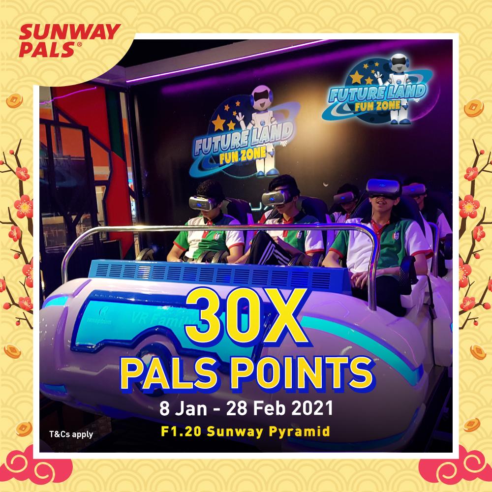 30X Pals Points
