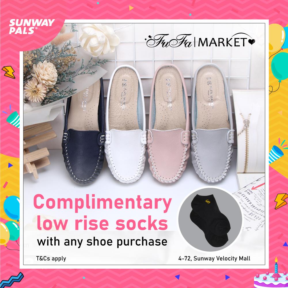 FOC low-rise sock