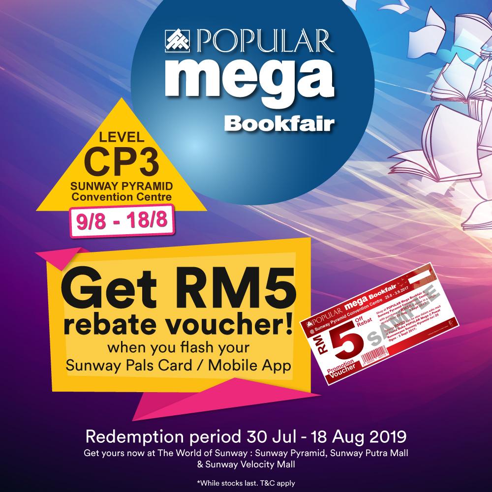 RM5 Rebate Vouchers Giveaway