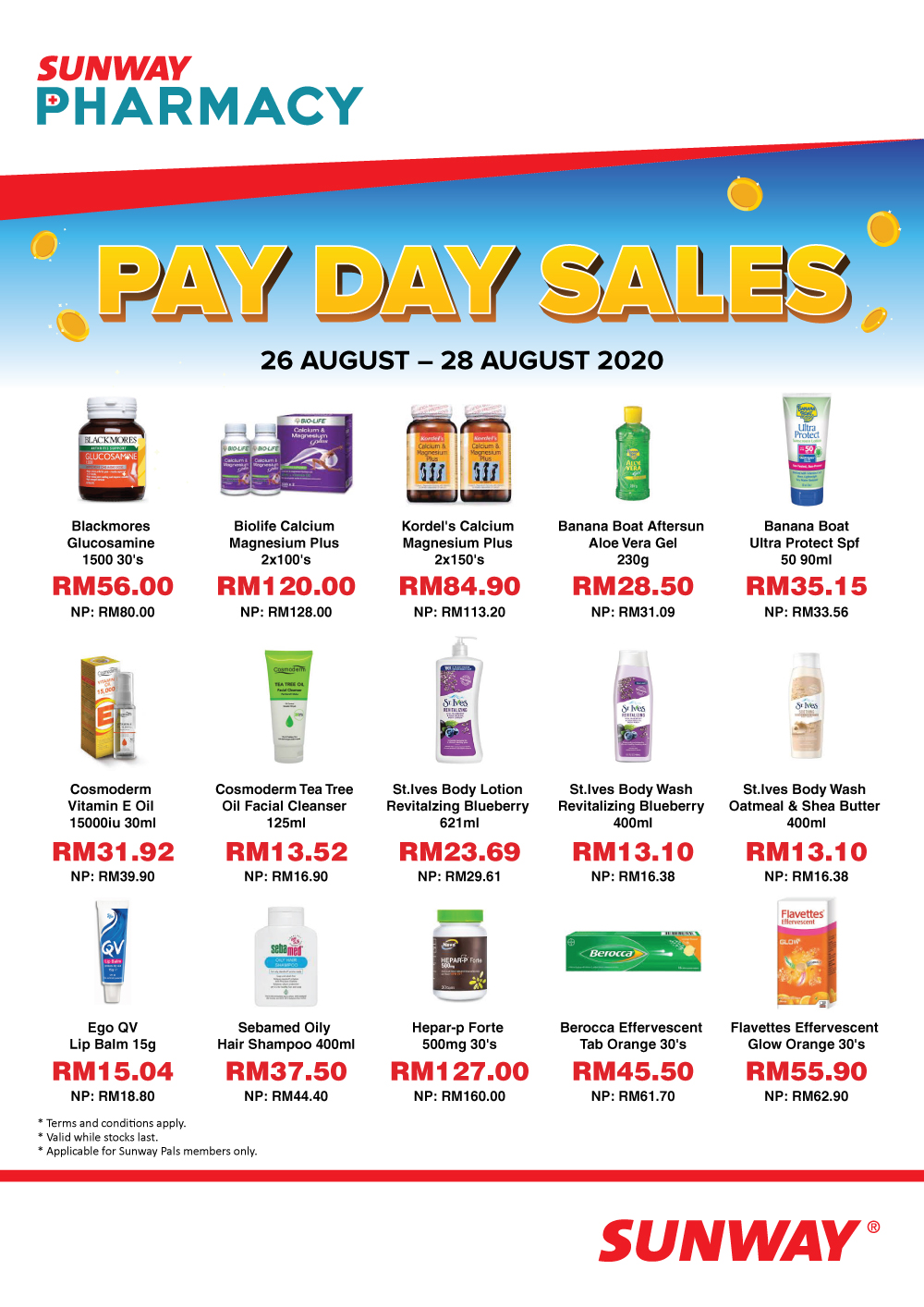 Pay Day Sales