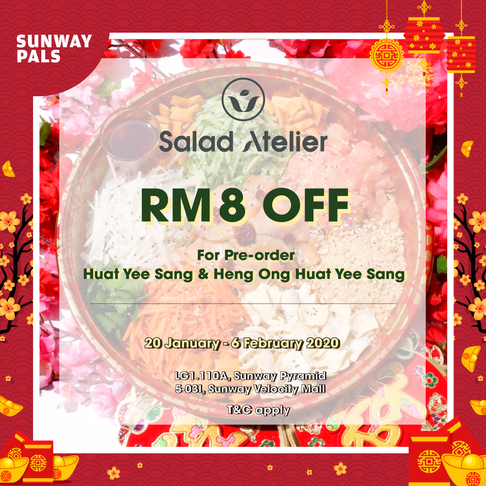 RM8 OFF for Pals Members!