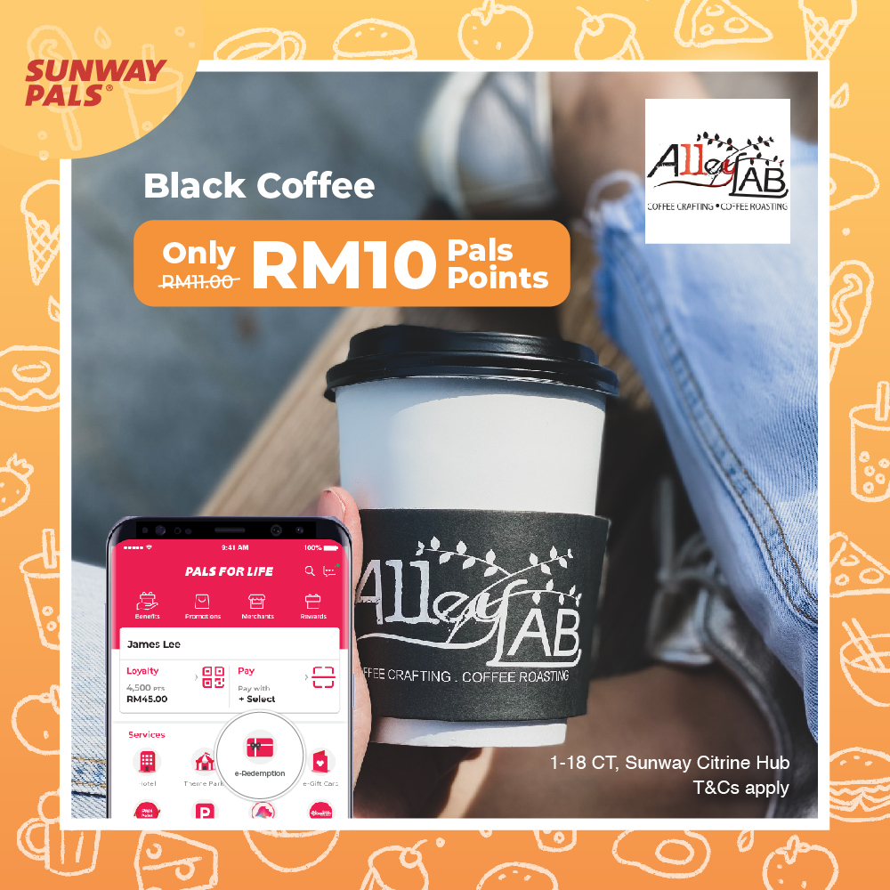 Black Coffee for RM10