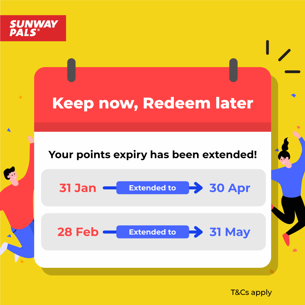 Jan & Feb 2021 Pals Points Expiry Extension