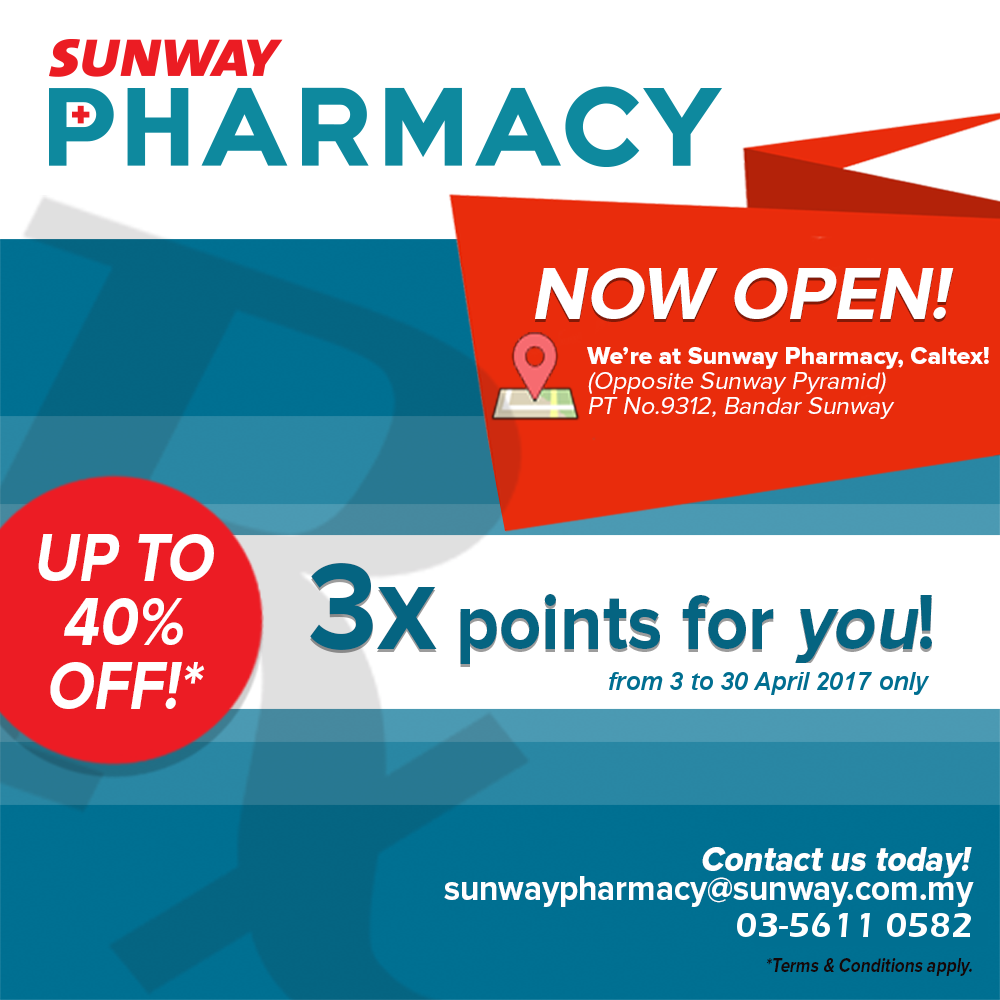 Grand Opening with 3x points!