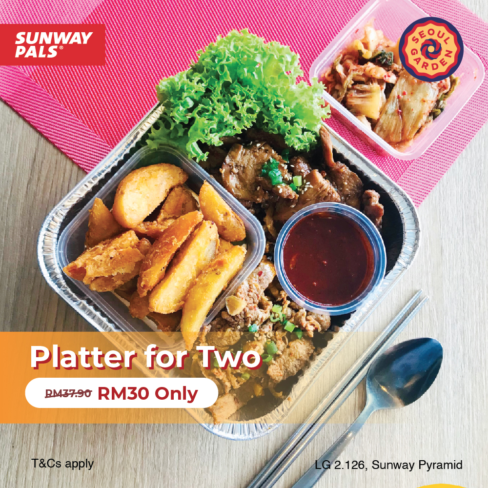 Platter for Two at RM30