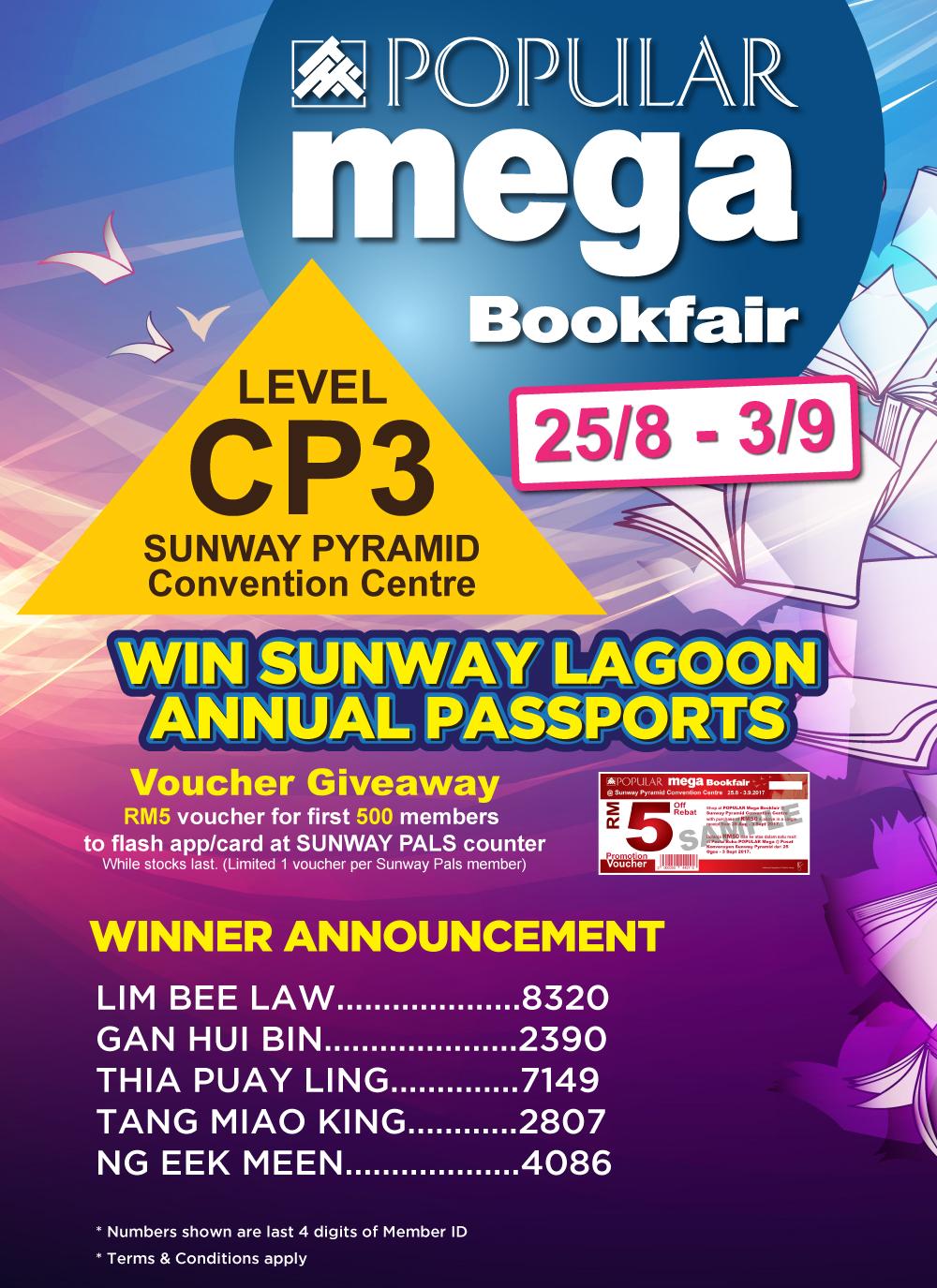 Popular Mega Bookfair 2017
