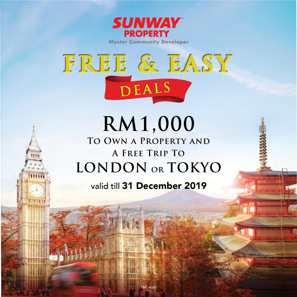 Sunway Property Free & Easy Deal