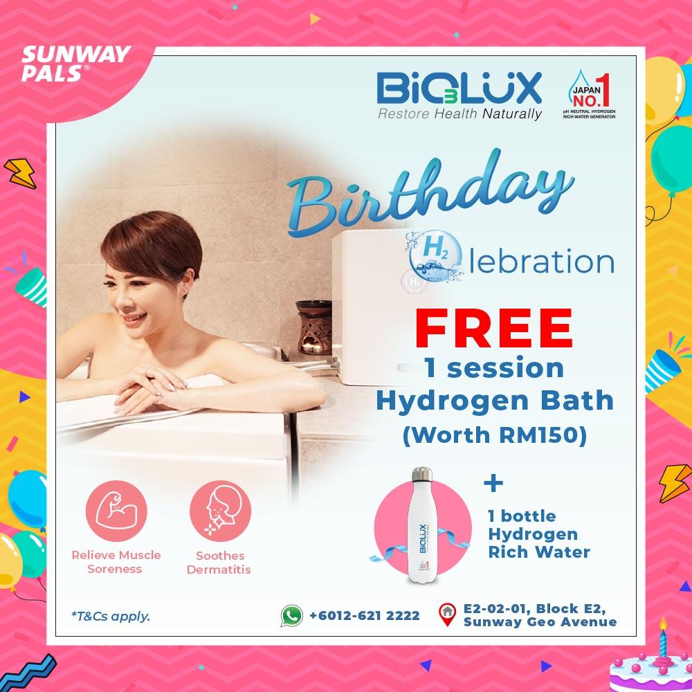 FREE Hydrogen Bath & More
