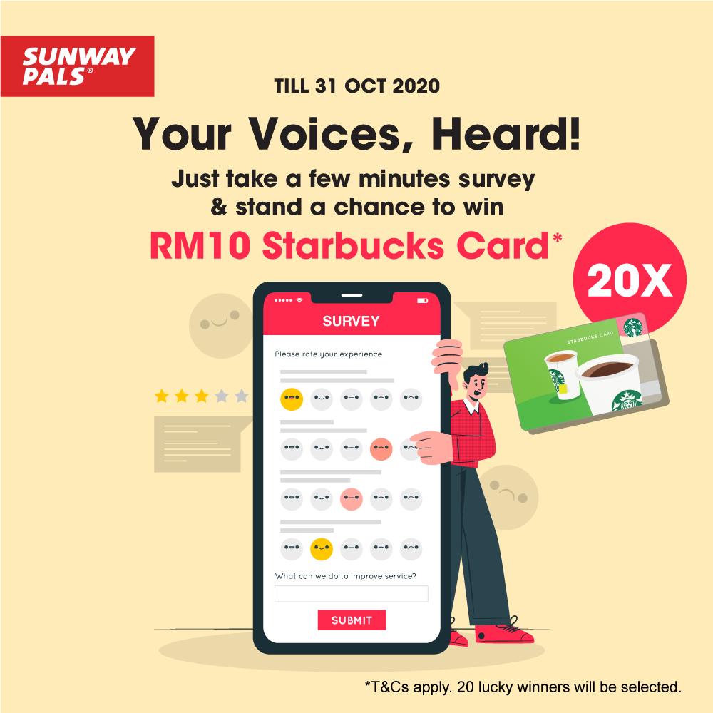 Take Our Survey & Earn Rewards