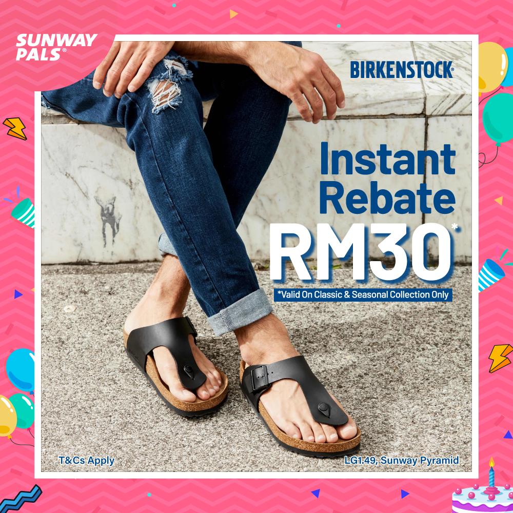 RM30 Instant Rebate