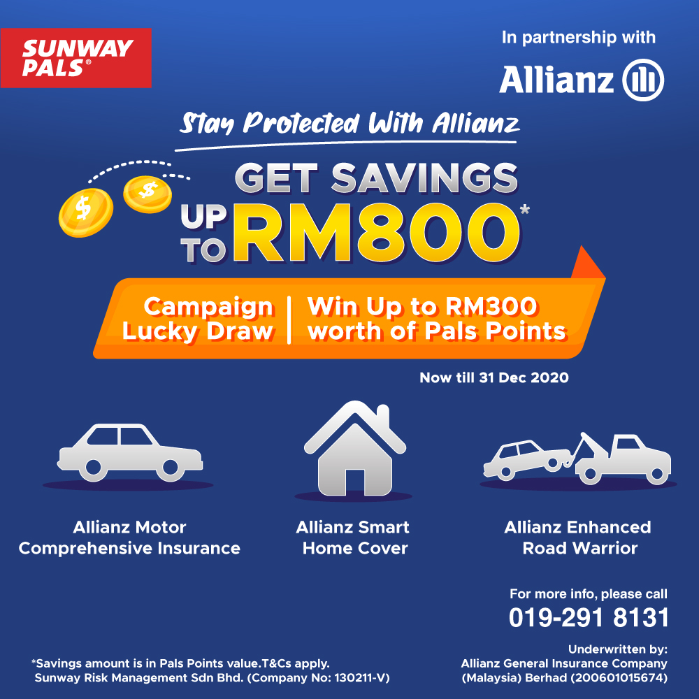15x Pals Points + Up To RM300 worth of Prizes