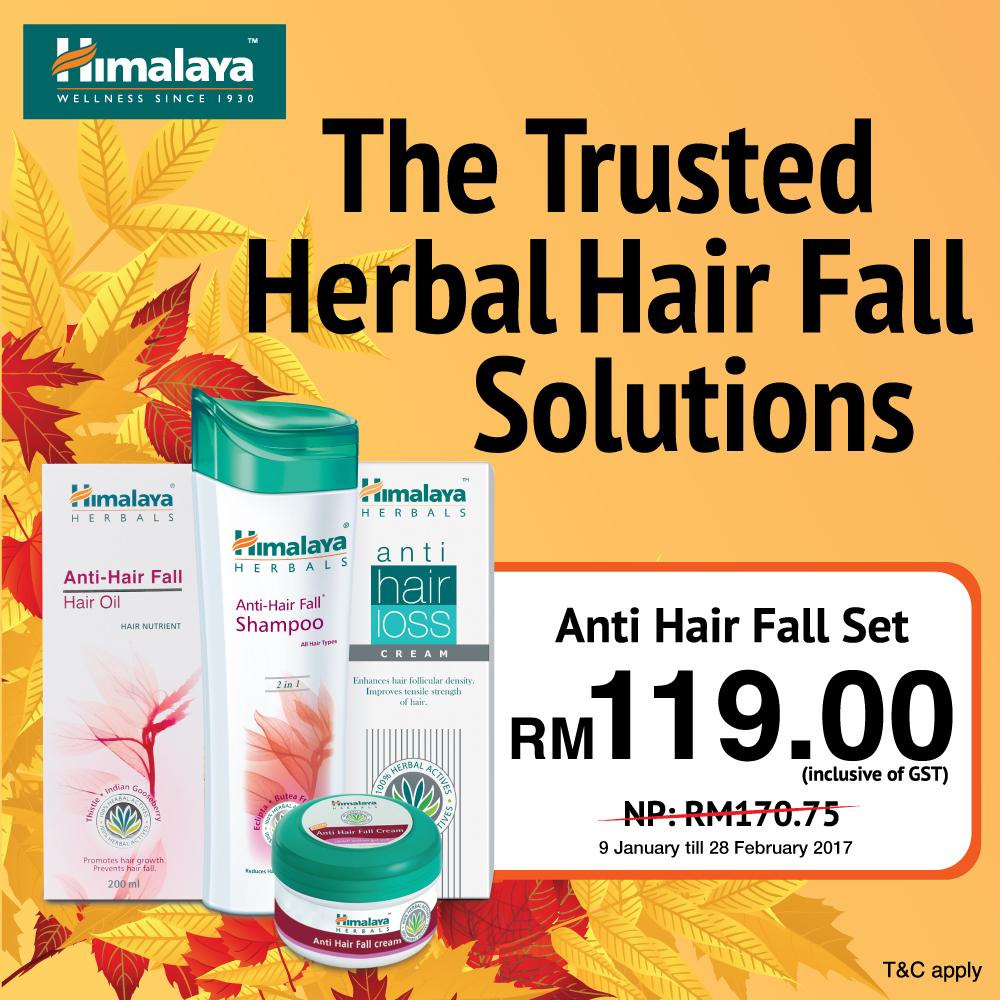 Anti Hair Fall Set at RM119
