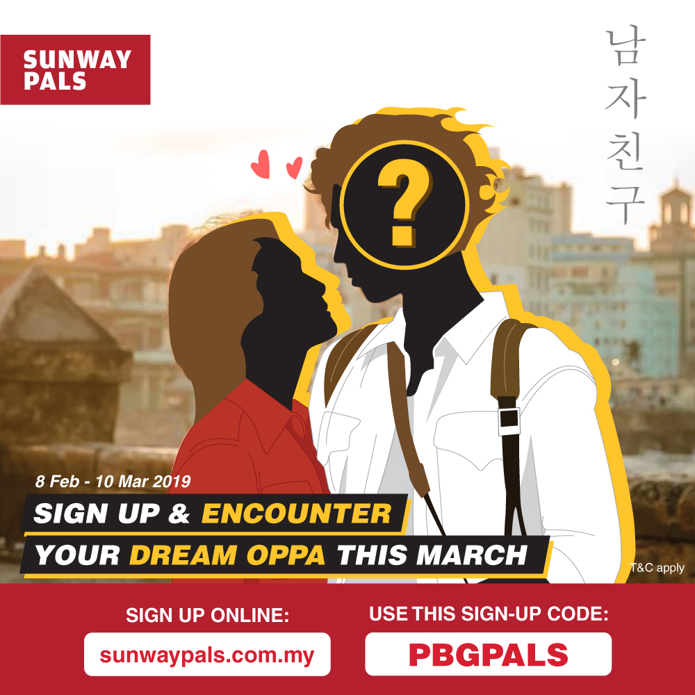 Sign up & encounter your dream oppa!