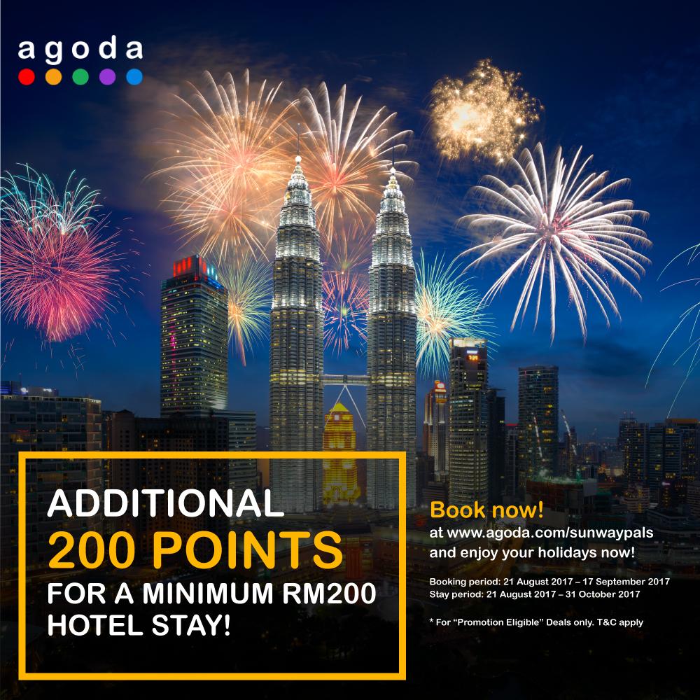 200 bonus points with spending of RM200