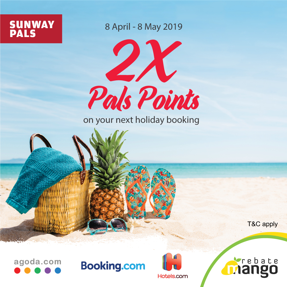 2x Pals Points on Holiday Bookings