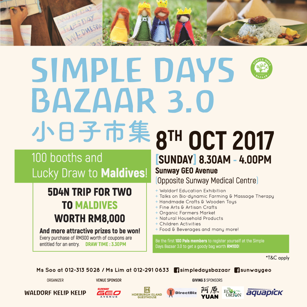 Simple Days Bazaar 3.0 at Sunway Geo Avenue