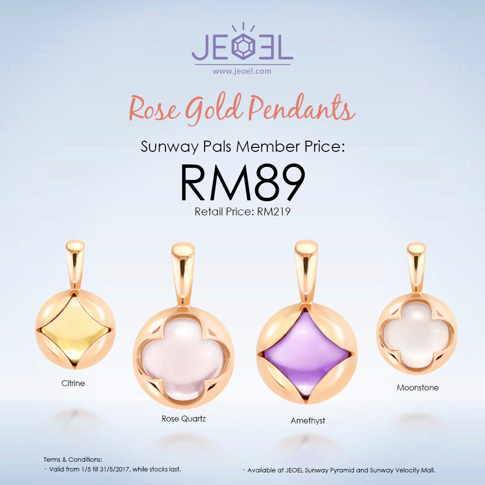 Rose Gold Pendant Special