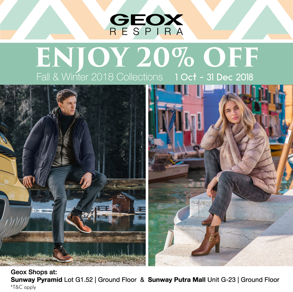 20% Off on F/W 2018 Collection