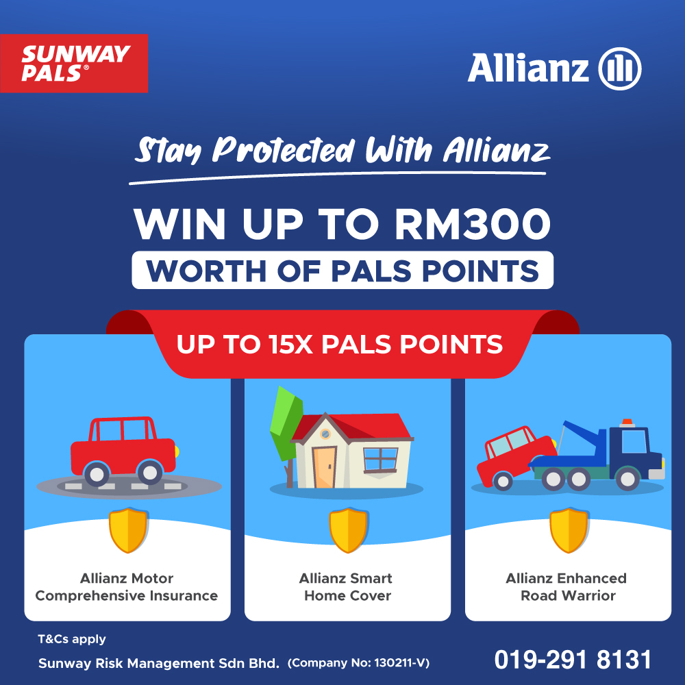 Go Home With Prizes Worth Up To RM300 Pals Points