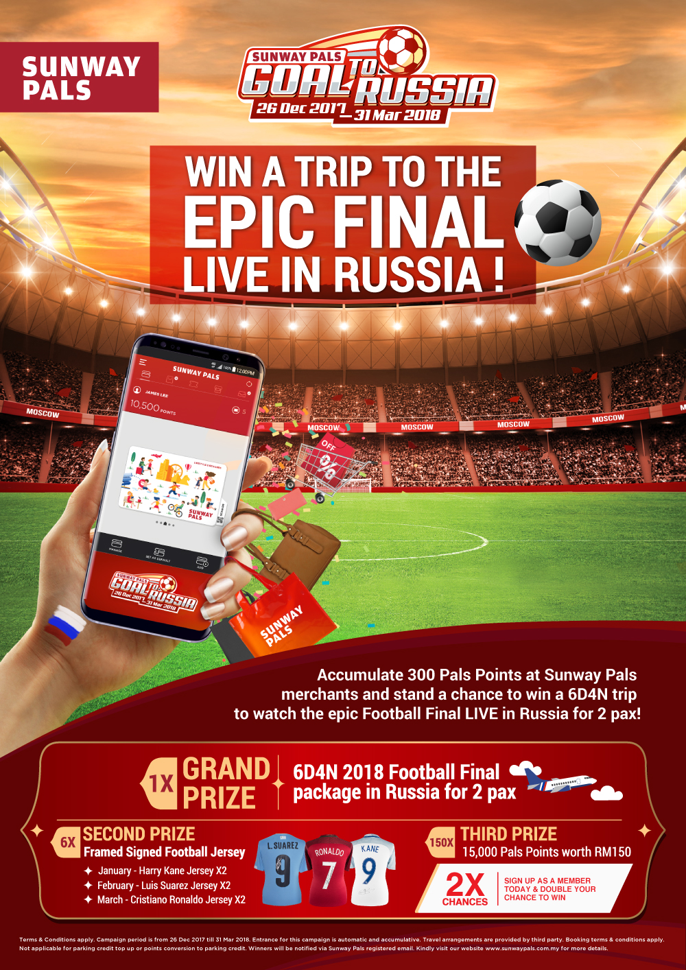 Win a Trip to the Epic Final LIVE in Russia