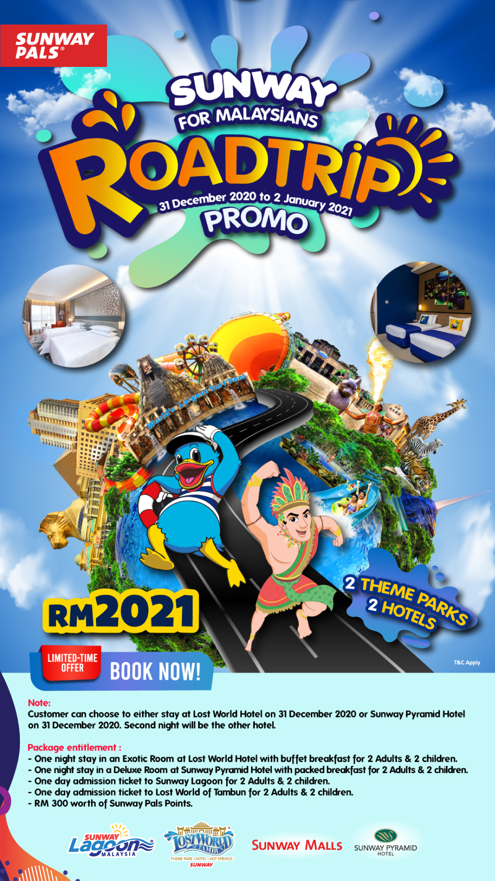 Get RM300 worth of Pals Points & MORE per Package!
