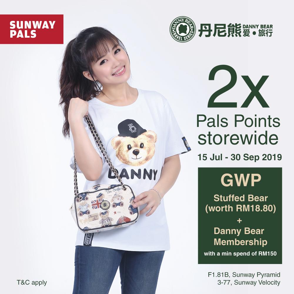 2x Pals Points storewide + GWP