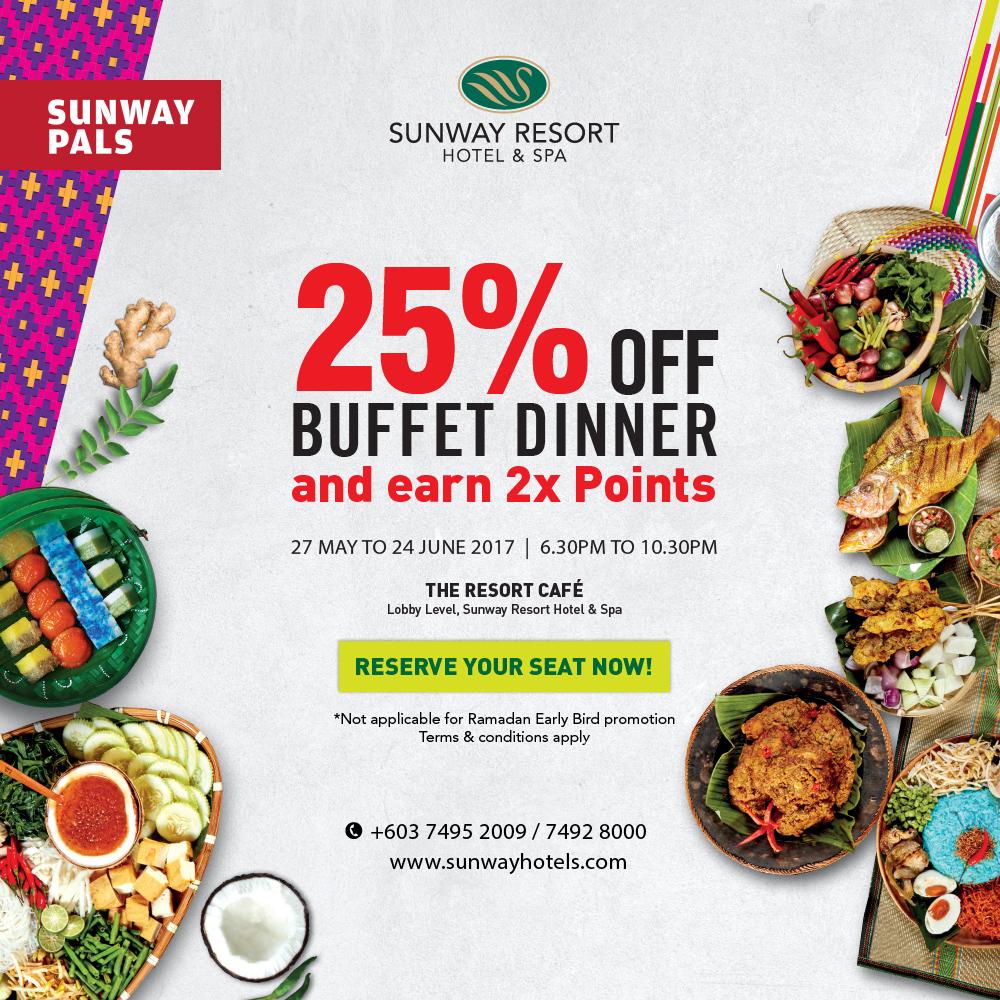 'Jemput Makan' Buffet Dinner