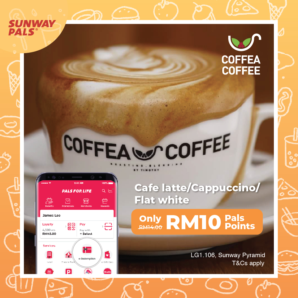 Coffee for RM10