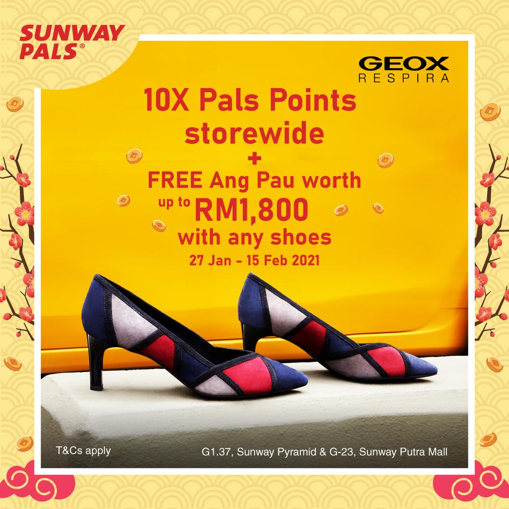 10X Pals Points & FREE Ang Pau