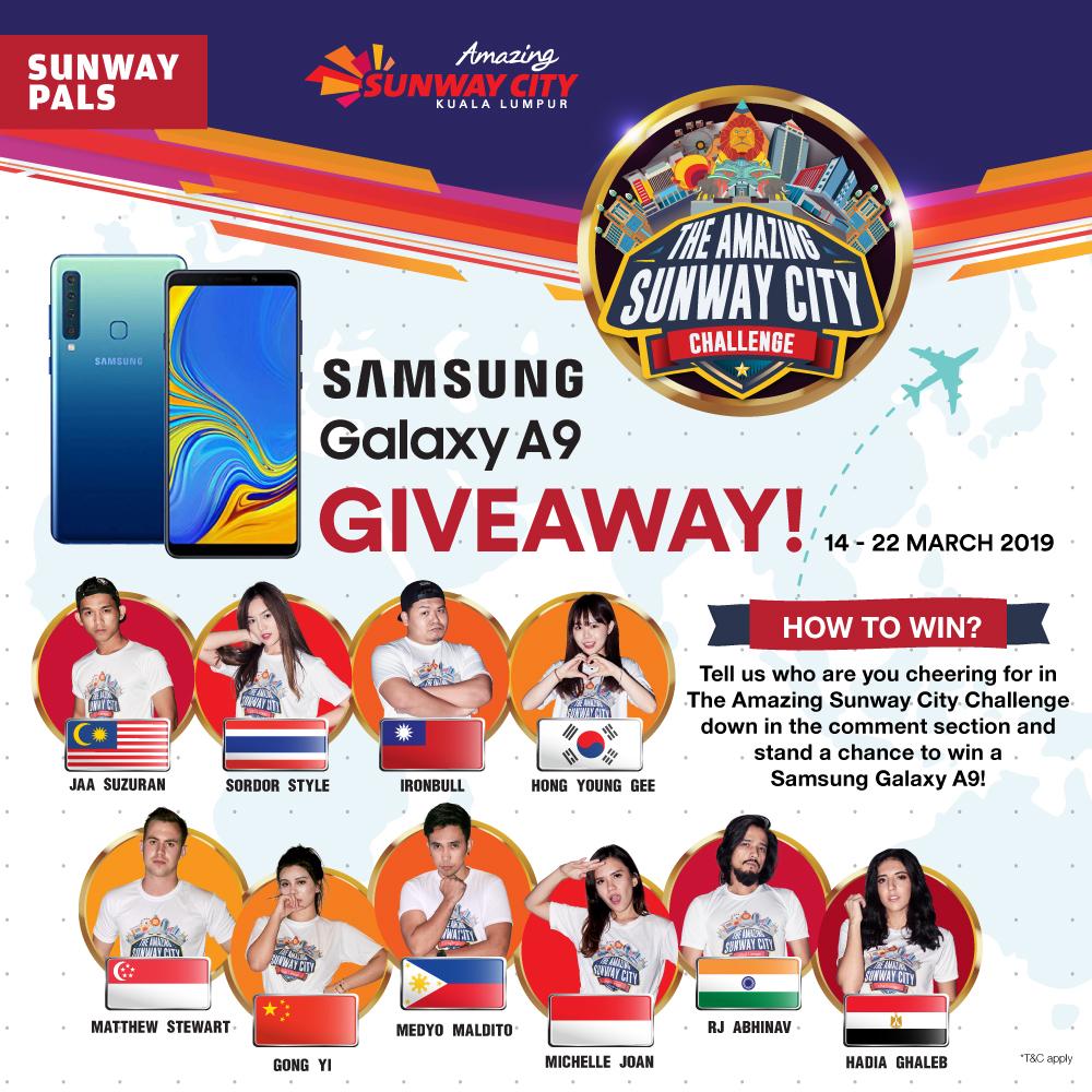 Samsung Galaxy A9 Giveaway