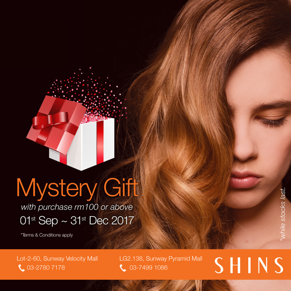 Get a mystery gift with purchase
