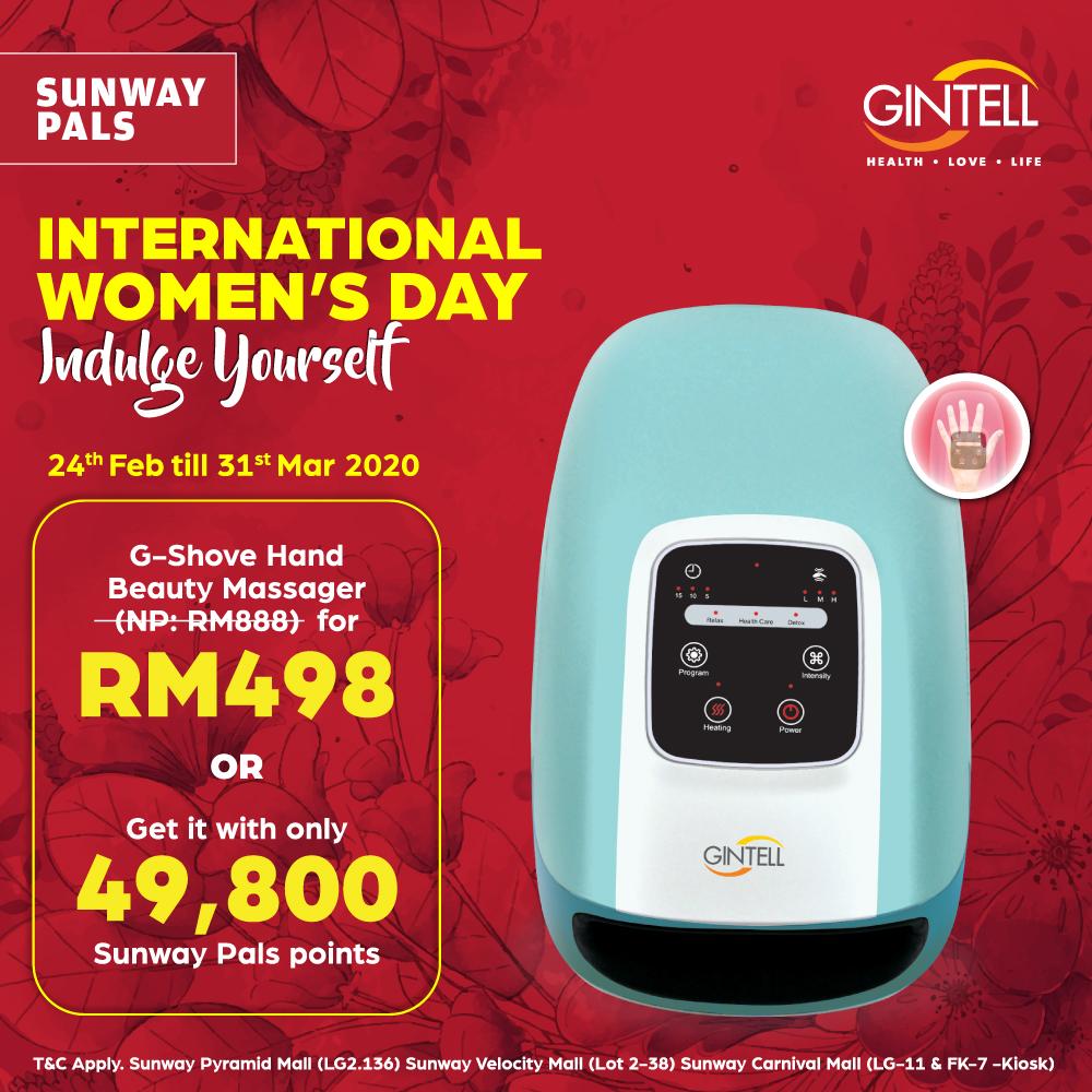G-Shove Hand Beauty Massager worth RM888