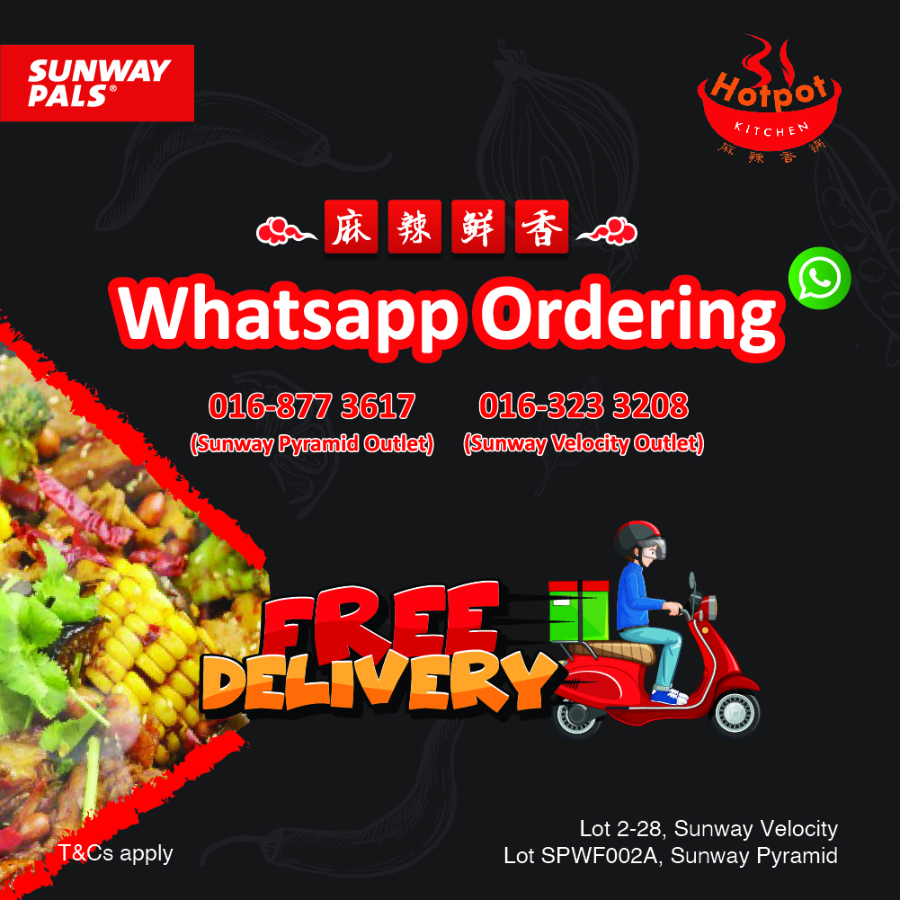 FREE Delivery for Whatsapp Orders