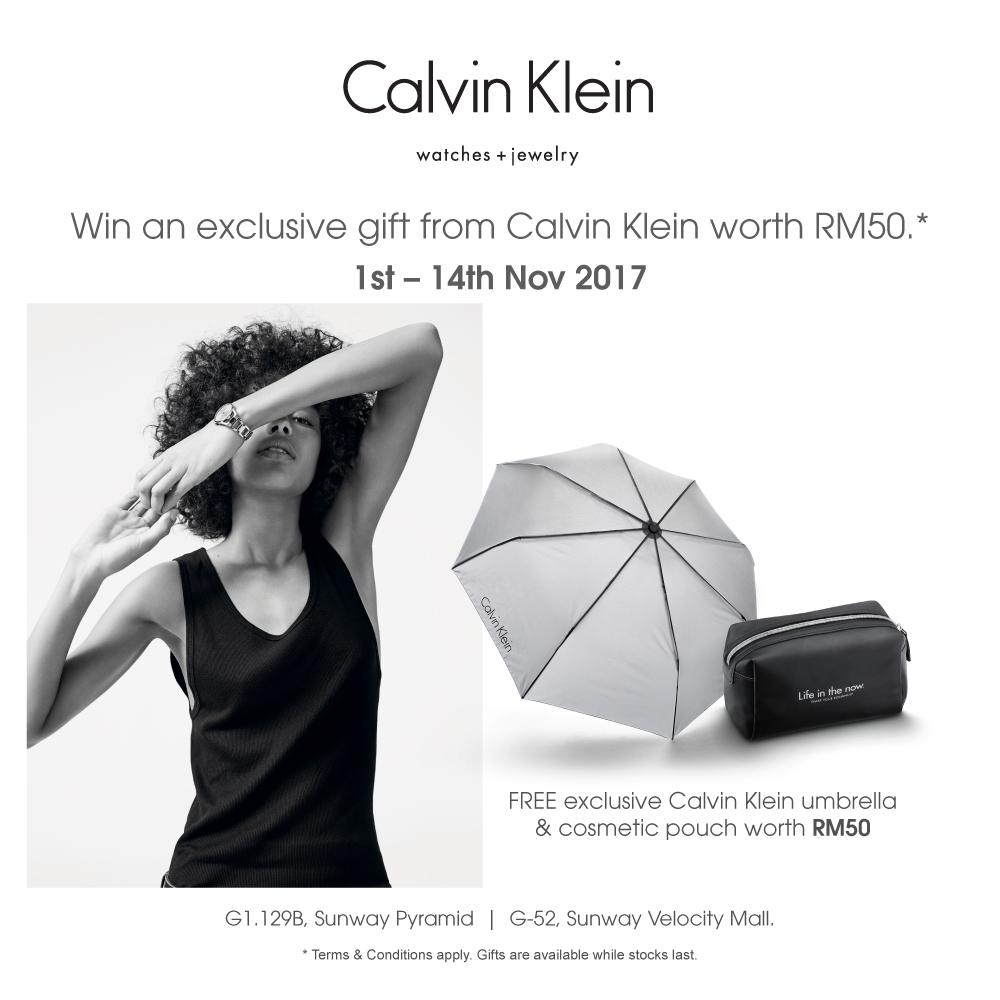 Calvin Klein watches + jewellery flash event