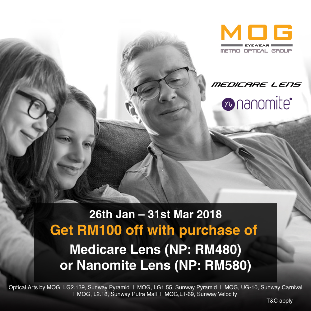 Special Price for Medicare and Nanomite Lenses