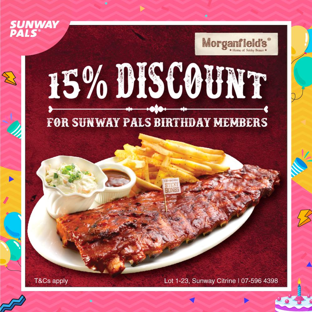 Dine In & Enjoy 15% OFF